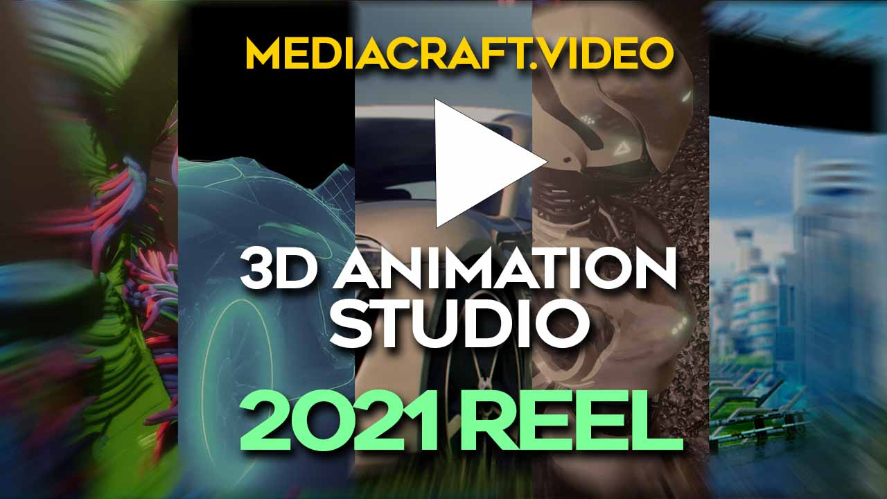 3d animation demoreel mediacraft